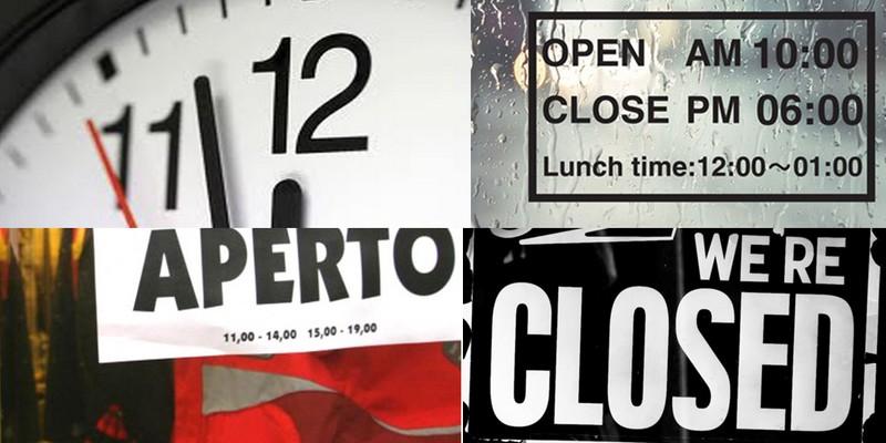 DDL orari negozi: in linea con l'Europa