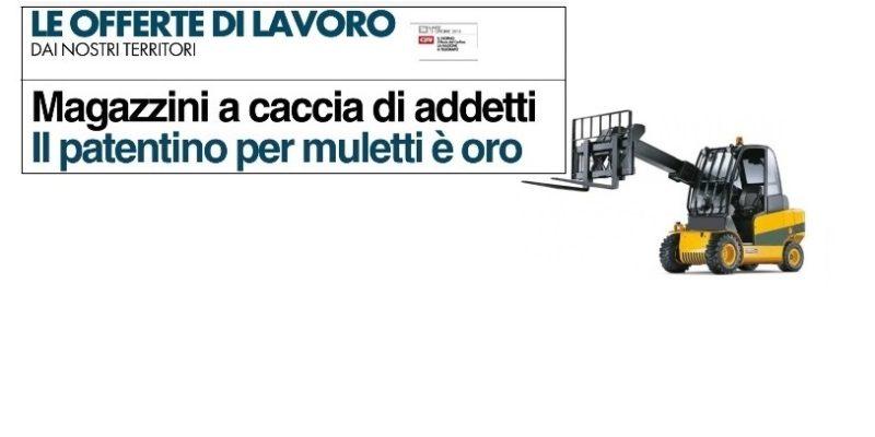 Immagine Corso per ADDETTO ALLA CONDUZIONE DI CARRELLI ELEVATORI
