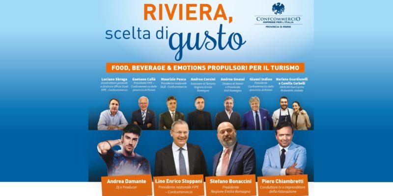 """Convegno: """"Riviera, scelta di gusto. Food, Beverage & Emotions propulsori per il turismo"""""""
