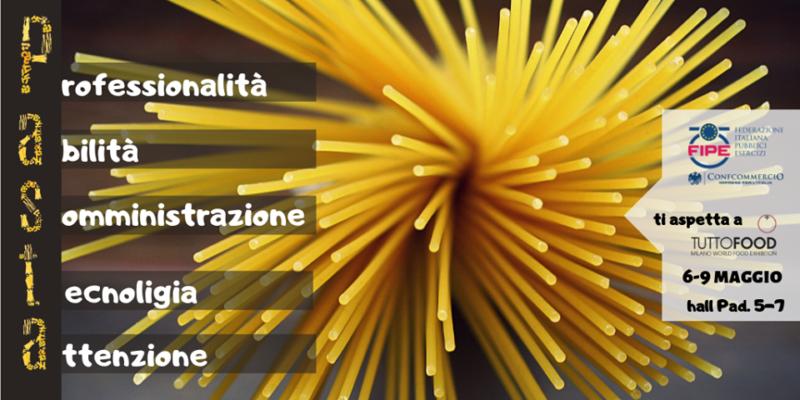 Immagine FIPE presente a Tuttofood, Fiera Milano 6- 9 Maggio 2019
