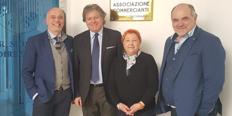 Immagine Confcommercio incontra Vallì Cipriani, candidata della Lega alle imminenti elezioni europee