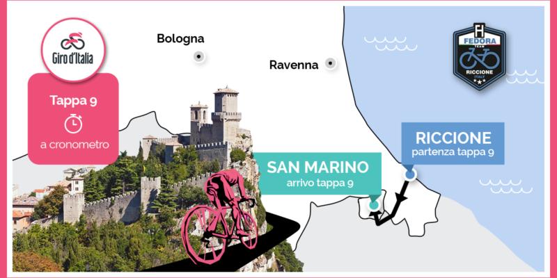 Giro d'Italia 2019 – modifiche alla viabilità e divieto vendita per asporto di bevande in vetro