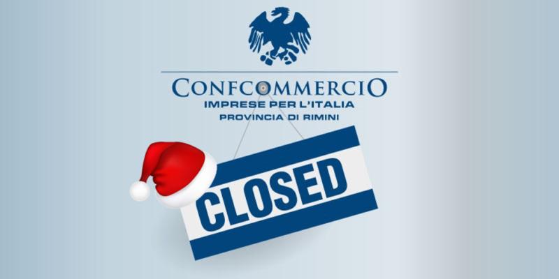 Chiusura uffici per le festività natalizie