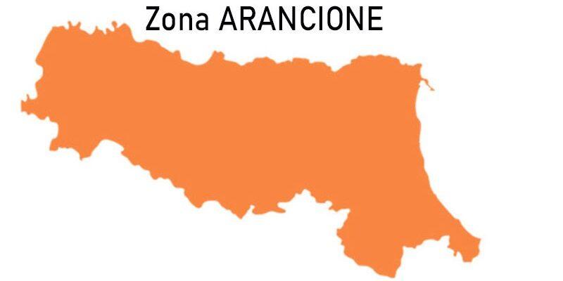 Nuova ordinanza: Emilia Romagna in zona arancione