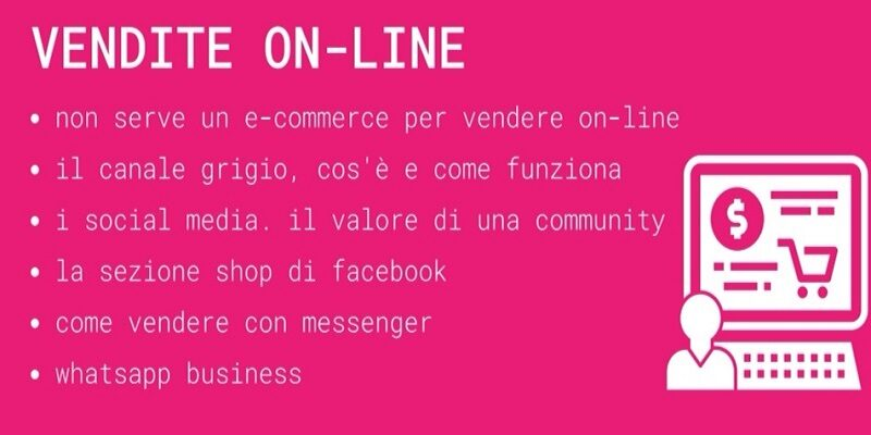 Webinar – Commercio. Vendite on-line