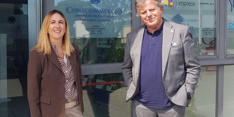 Confcommercio provincia di Rimini ha incontrato oggi la candidata sindaco Gloria Lisi